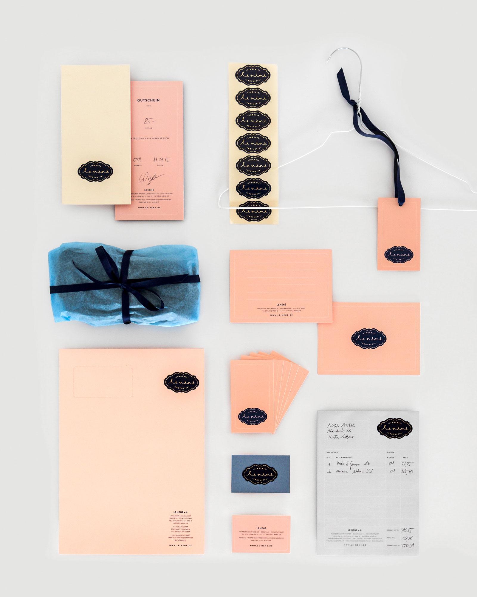 Le Néné   Corporate, Print, Web & Interior Design: ADDA